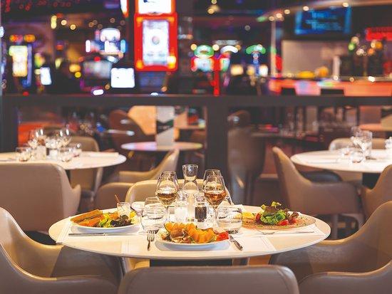 Ajax Casino Restaurant Menu