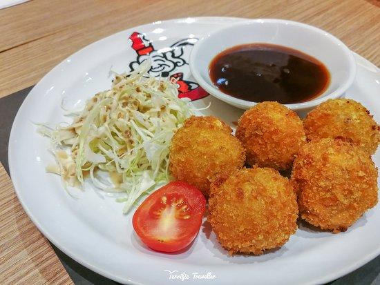 Ikkoryu Fukuoka Ramen: Potato Croquette