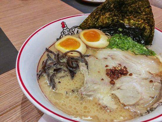Ikkoryu Fukuoka Ramen: Ajitama Tonkotsu
