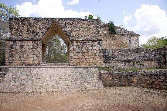 Ek Balam: Ruine