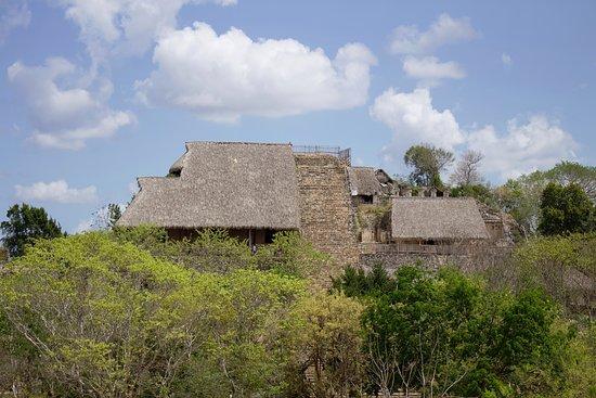 Ek Balam: Tempelanlage