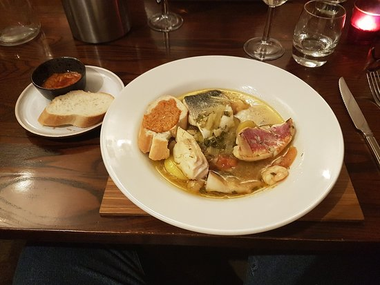 Marmalade's Bistro: Marmalade's excellent Bouillabaisse