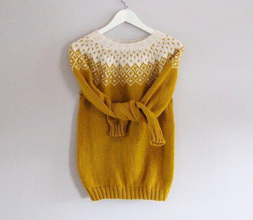 Vagur, Færøyene: Bohéme Wool Sweater