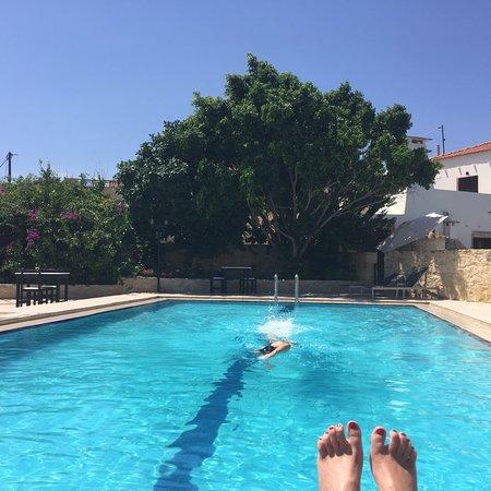 Douliana, اليونان: Blue Garden