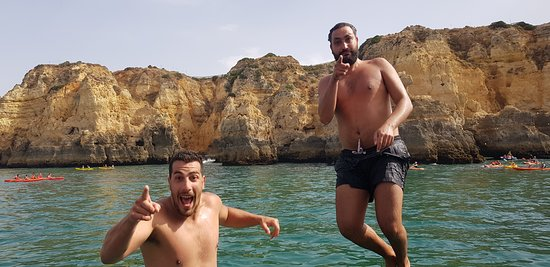 Discover Tours: Jump from the top of the boat !! Thank you so much guys for this magic  tour !!!