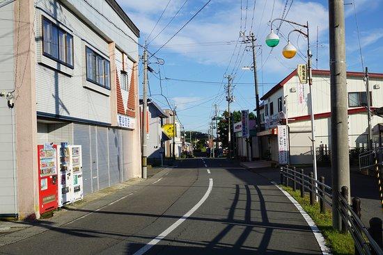 Hashikami Station Shopping Street