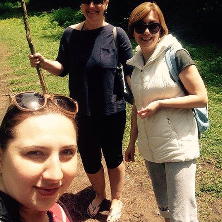 Borjomi-Kharagauli National Park, จอร์เจีย: Борджоми одно из велеколепных мест Грузии.Курорт минеральных источников,Боржоми славиться на вес