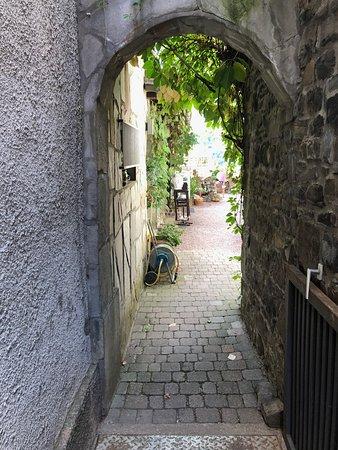 Zum Alten Schloss: Great entrace