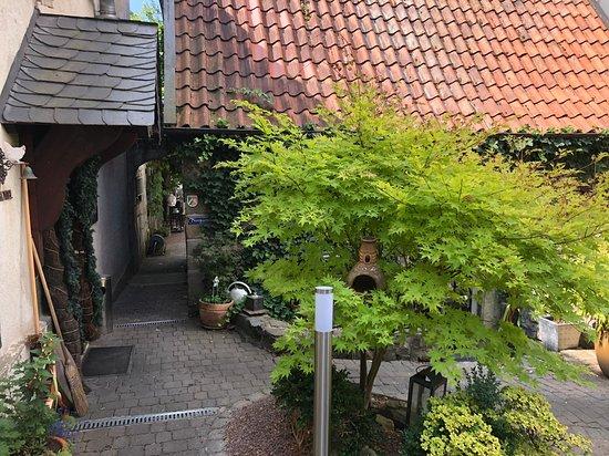 Zum Alten Schloss: Lovely entrance