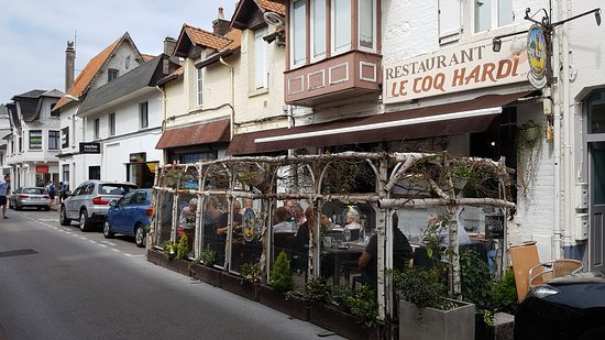 La Terrasse Picture Of Le Coq Hardi Le Touquet Paris