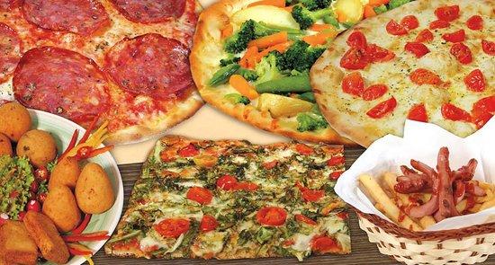 Assortimento di pizze e rosticceria!