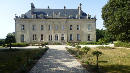 Sarzeau, Franciaország: Façade arrière