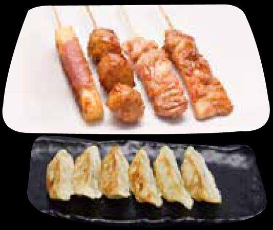 Sushi Fuji: Menu Brochettes Raviolis