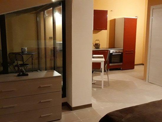 Bonate Sopra, Italy: Suite mansardata con terrazino vista Bergamo Alta