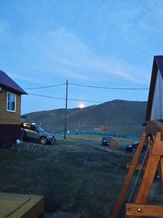 Sakhyurta, Russland: Луна поднимается из-за гор