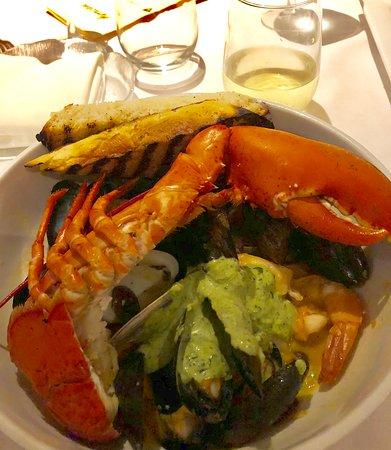 Hurricane Restaurant: Seafood stew