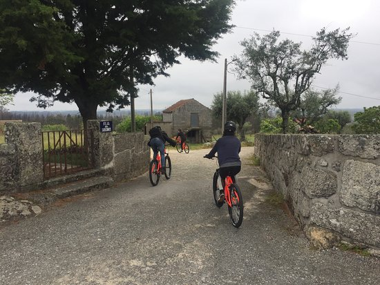 Ervedal da Beira, Portugal: bicycle route through quaint villages of the Beira