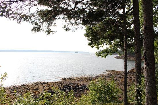 St Croix Island Historical Site: pretty views