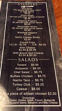 Bear Creek, Pennsylvanie : Starters and Salads August 2018
