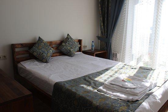 Zerenda, Kazakhstan: 2-х местный номер со всеми условиями.