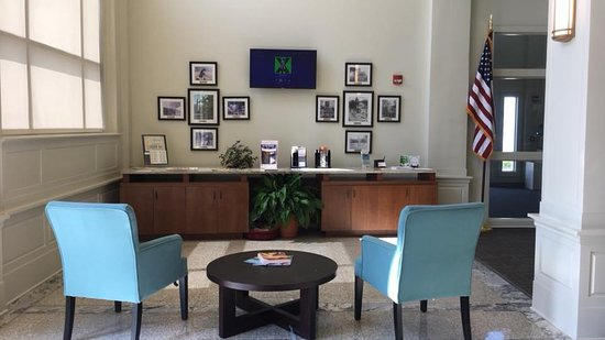 Gaffney Visitors Center & Art Gallery: Information section