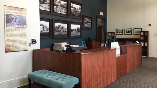 Gaffney Visitors Center & Art Gallery: Guest Services