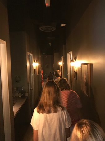 Escape Hunt Dallas: Hall to tall the rooms - no pictures past this point