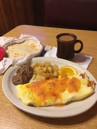 Riviera, TX: Breakfast Plate