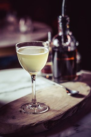 Toast & Butter Daiquiri - Bacardi and toast syrup