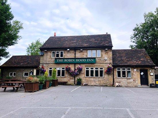 Baslow, UK: The restaurant