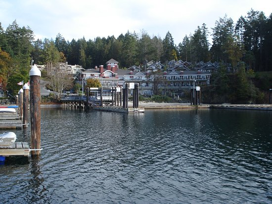 Poets Cove Resort & Spa: View from the harbour