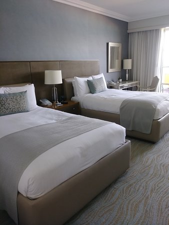 Room was large and very comfortable