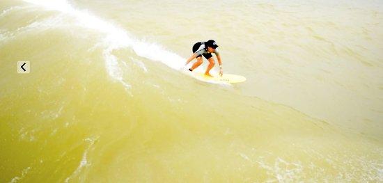 Del Valle, TX: Reef Wave, NLAND, Surfer: Monica Riehl, El Paso