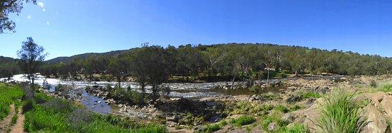 Brigadoon, Australia: Pano of Avon River & Bells Rapids