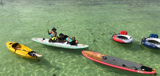 Key Largo Adventures: Water toys are the BEST!