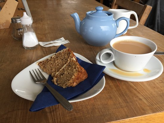 Newgale, UK: Very small slice of cake