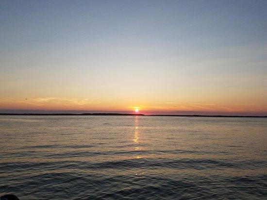 The Landing At Sunset Beach From Landings Dinner
