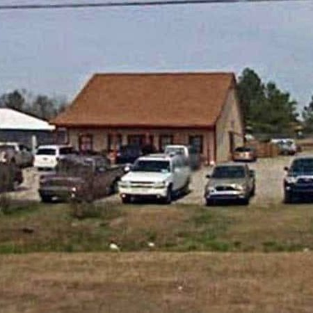 Barnwell, SC: Exterior view of BBQ