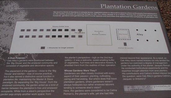Oak Alley Plantation: Plattegrond