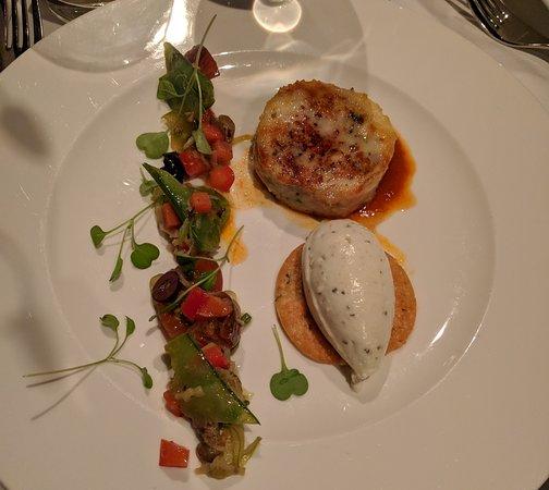 GEORGE Restaurant: cornish hen