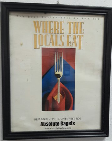 Absolute Bagels: Award: Best bagels on the Upper West Side