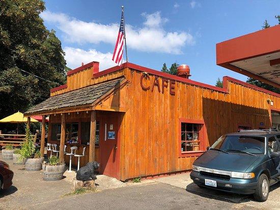 Trout Lake, วอชิงตัน: Bear Creek Cafe