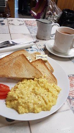 Scrambled Eggs & Toast 2