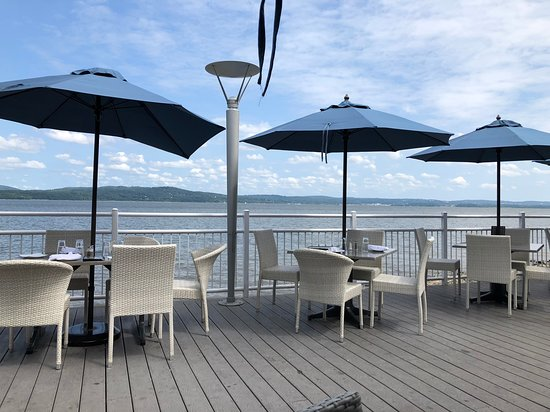 West Haverstraw, NY: View from the deck of the Hudson Water Club