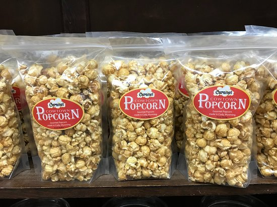 55d4049047cd Cowtown Candy Company: We make our own Caramel Corn and candy coated popcorn
