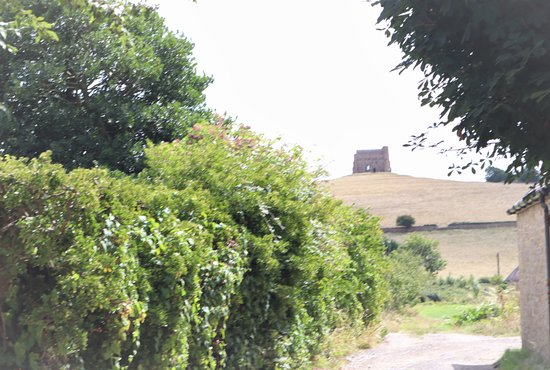St Catherine's Chapel: The chapel seen from Abbotsbury.