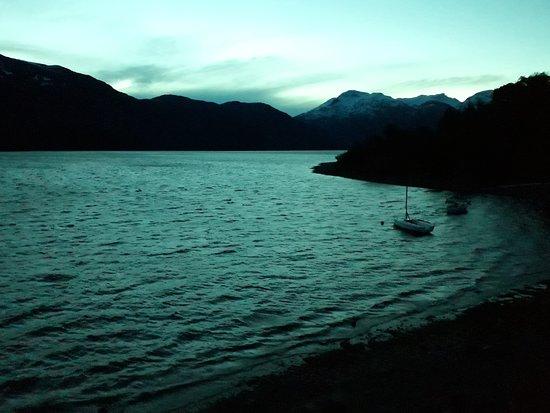 Los Alerces National Park, Argentina: Night view