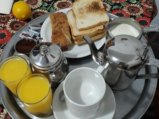 Los Alerces National Park, Argentina: Breakfast!