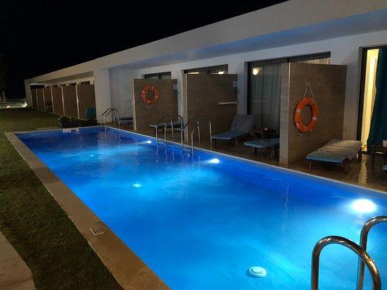 Kypseli, Griekenland: Private pool.