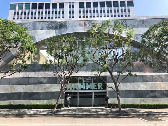 Hammer Museum: Beautiful facade